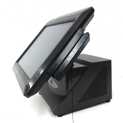 "NCR RealPOS 70XRT Model 7403-9000-8801 Point of Sale w/ Key 15"" Screen CC Reader"