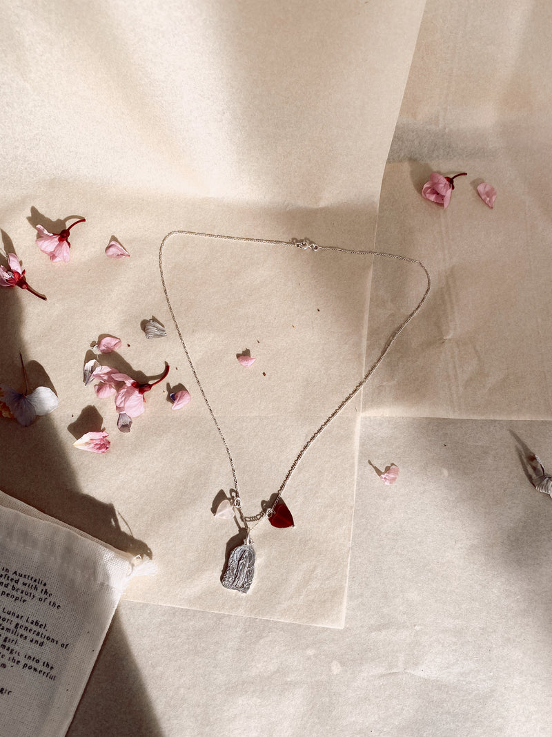 The Divine Grace Necklace - Sterling Silver