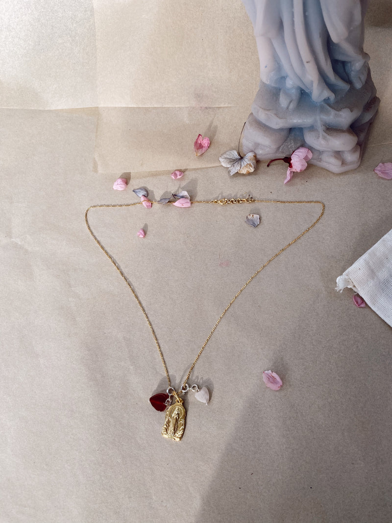 The Divine Grace Necklace - Gold Plated