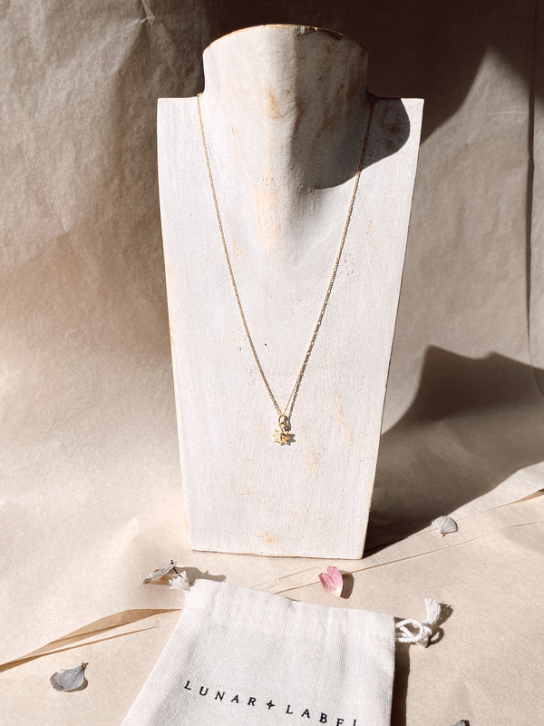 Here Comes the Sun Necklace - Gold Plated