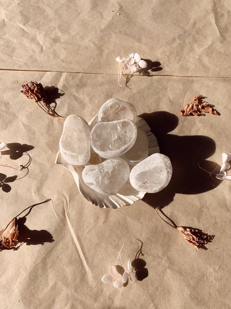 Clear Quartz Seer Stones