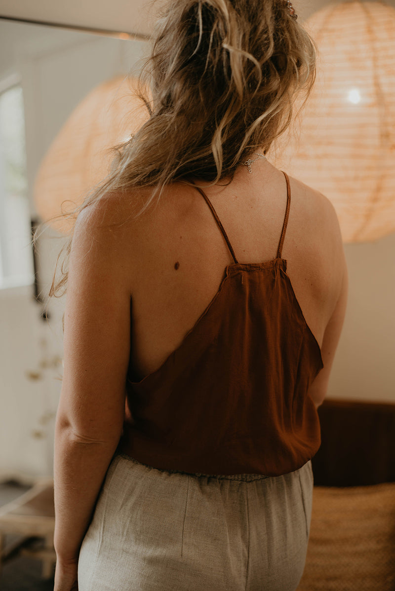 The Cloud Camisole - Toffee