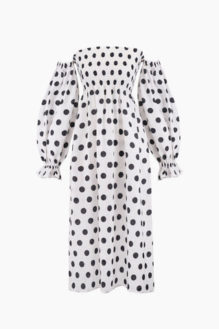 SLEEPER Atlanta Dress - Polka Dot