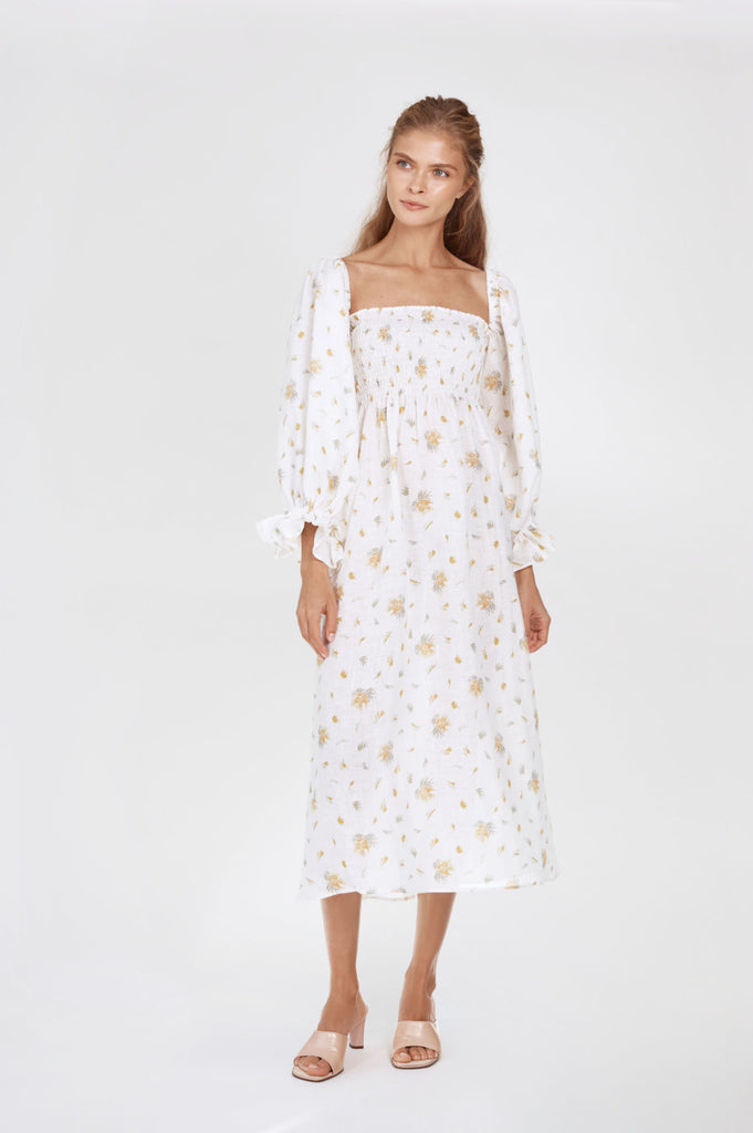 SLEEPER Atlanta Dress - Mimosa Floral