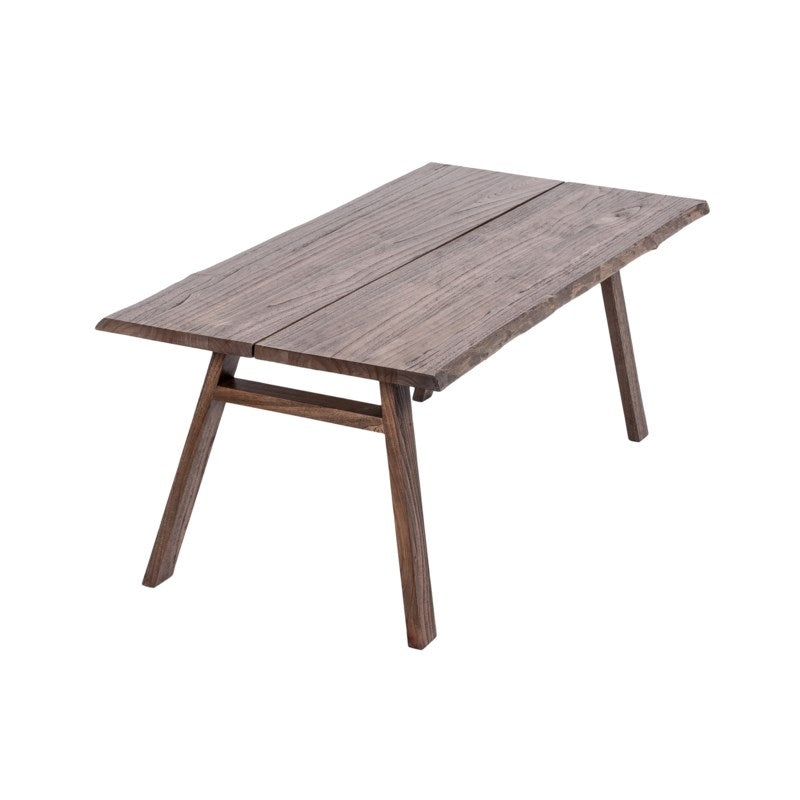 JE Brown Wood Dining Table