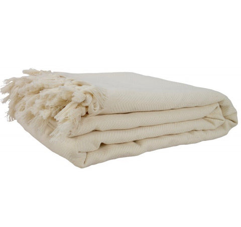 Turkish Blanket - Beige