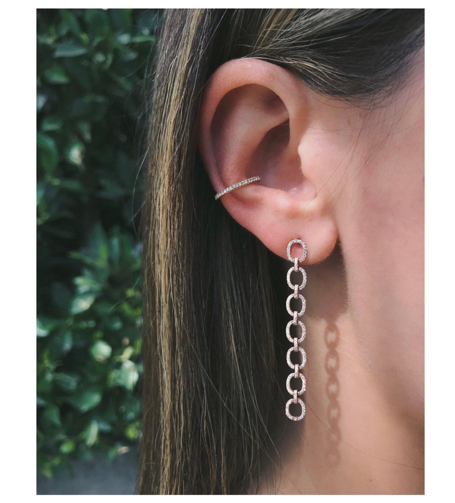 DIAMOND EAR CUFF (NO PIERCING)