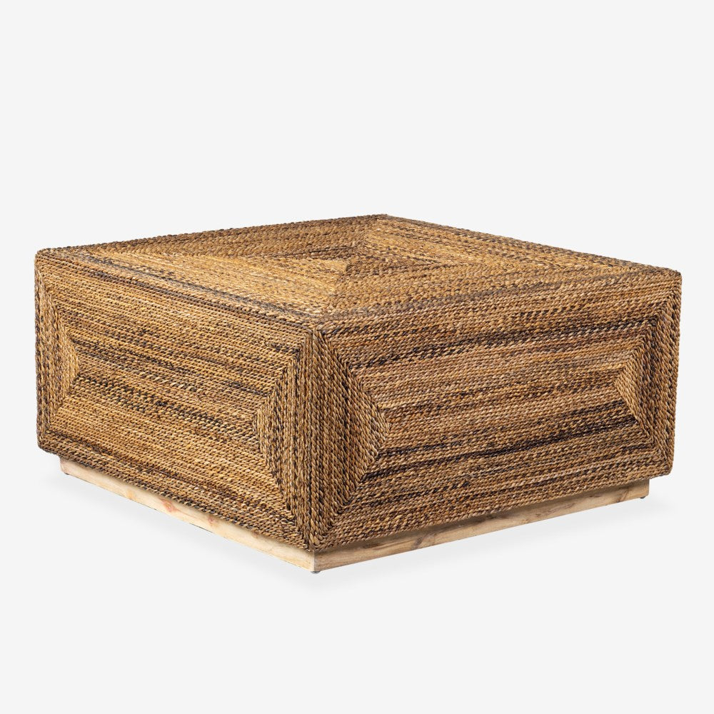 JE Braided Seagrass Coffee Table