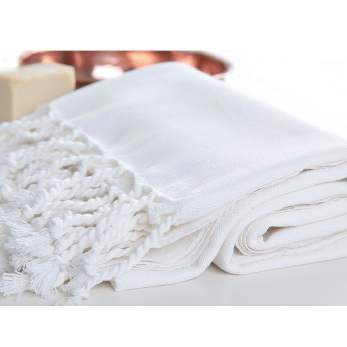 Turkish Towel - White