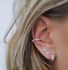 DIAMOND BEZEL LARGE EAR CUFF (NO PIERCING)