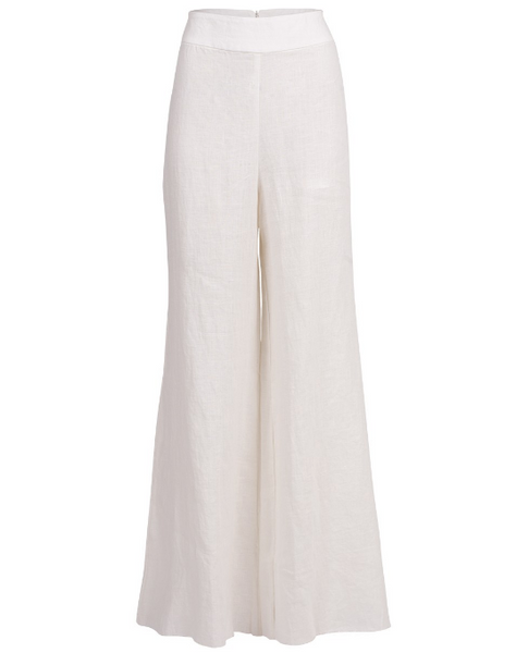 Just Bee Queen Martina Pants White