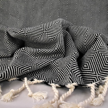 Turkish Towel-  Diamond Pattern