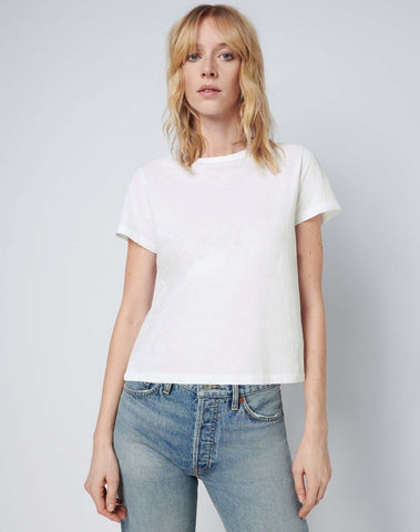 RE/DONE Modern Cotton Classic Tee White