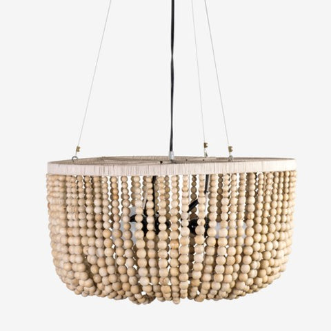 JE Small Beaded Chandelier