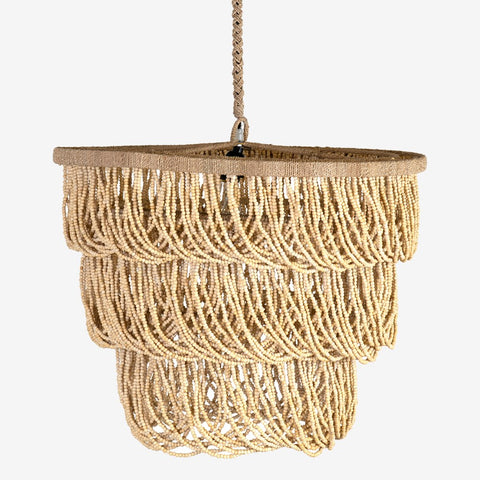 JE Tiered Bead Chandelier