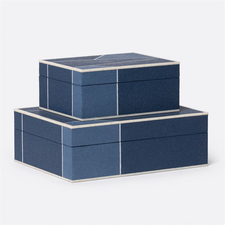 Made Goods Breck Boxes (navy)