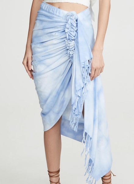 Just Bee Queen Tulum Skirt Sky Blue Ombre