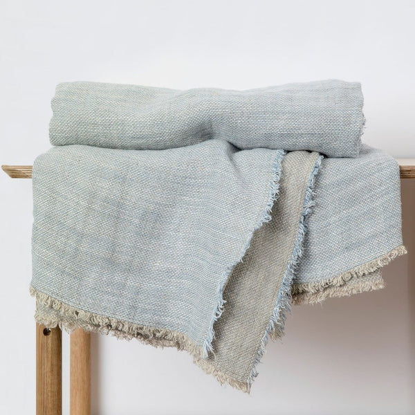 Mira Linen Throw - Lena Sky