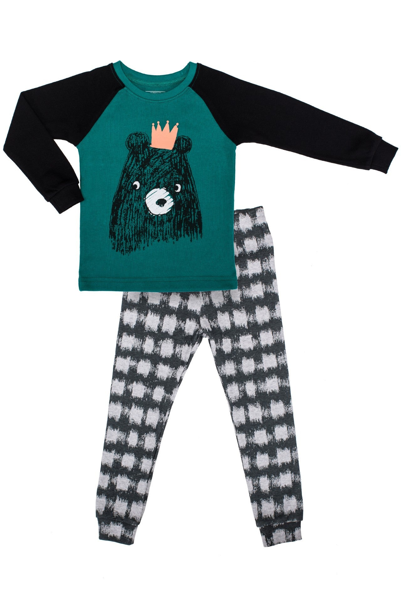 20s Cotton Count - Medium Warmth Pajamas - Grizzly Prince