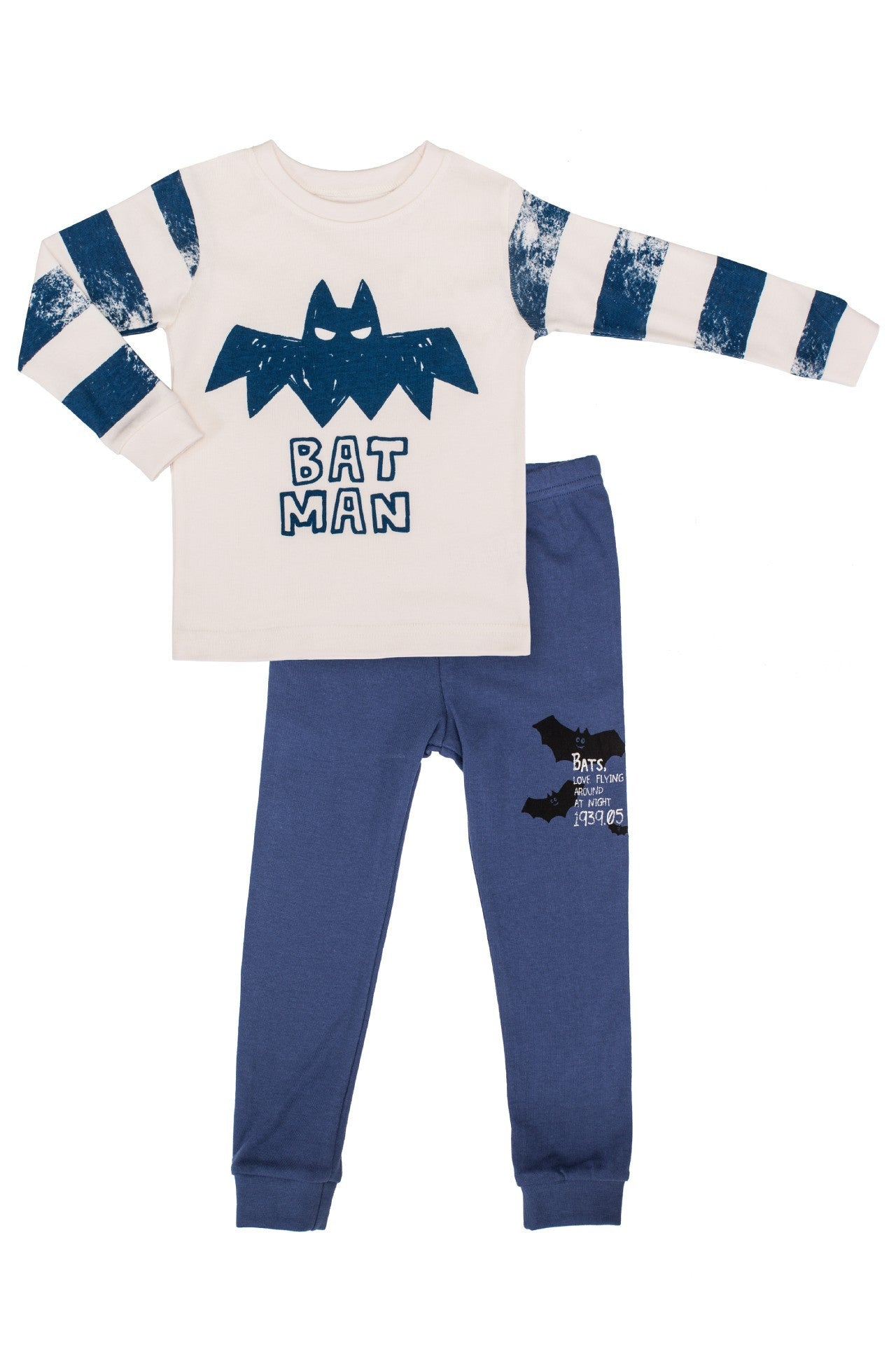 30s Cotton Count - Lightest Pajamas - Bat Boy
