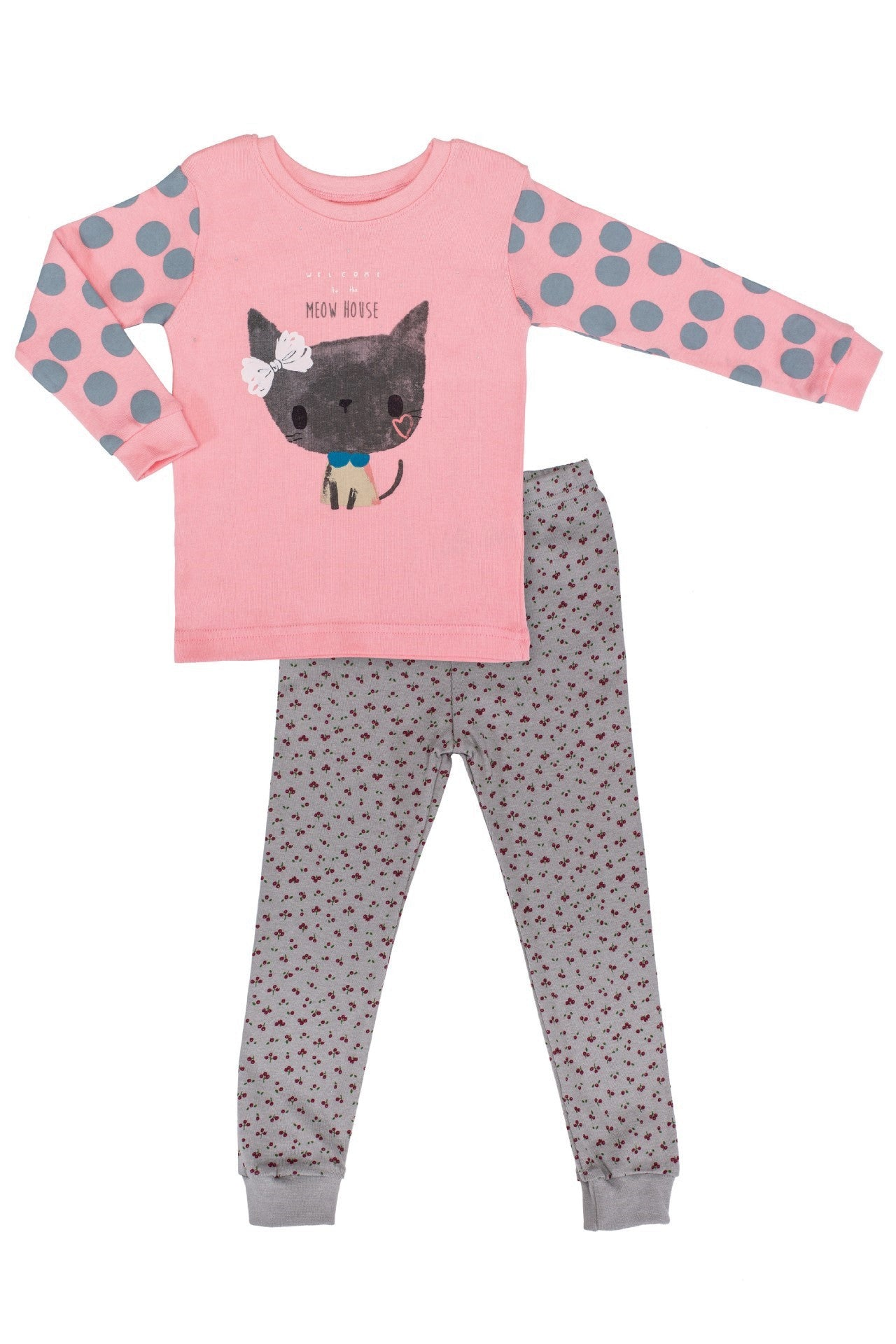 30s Cotton Count - Lightest Pajamas - Meow Meow
