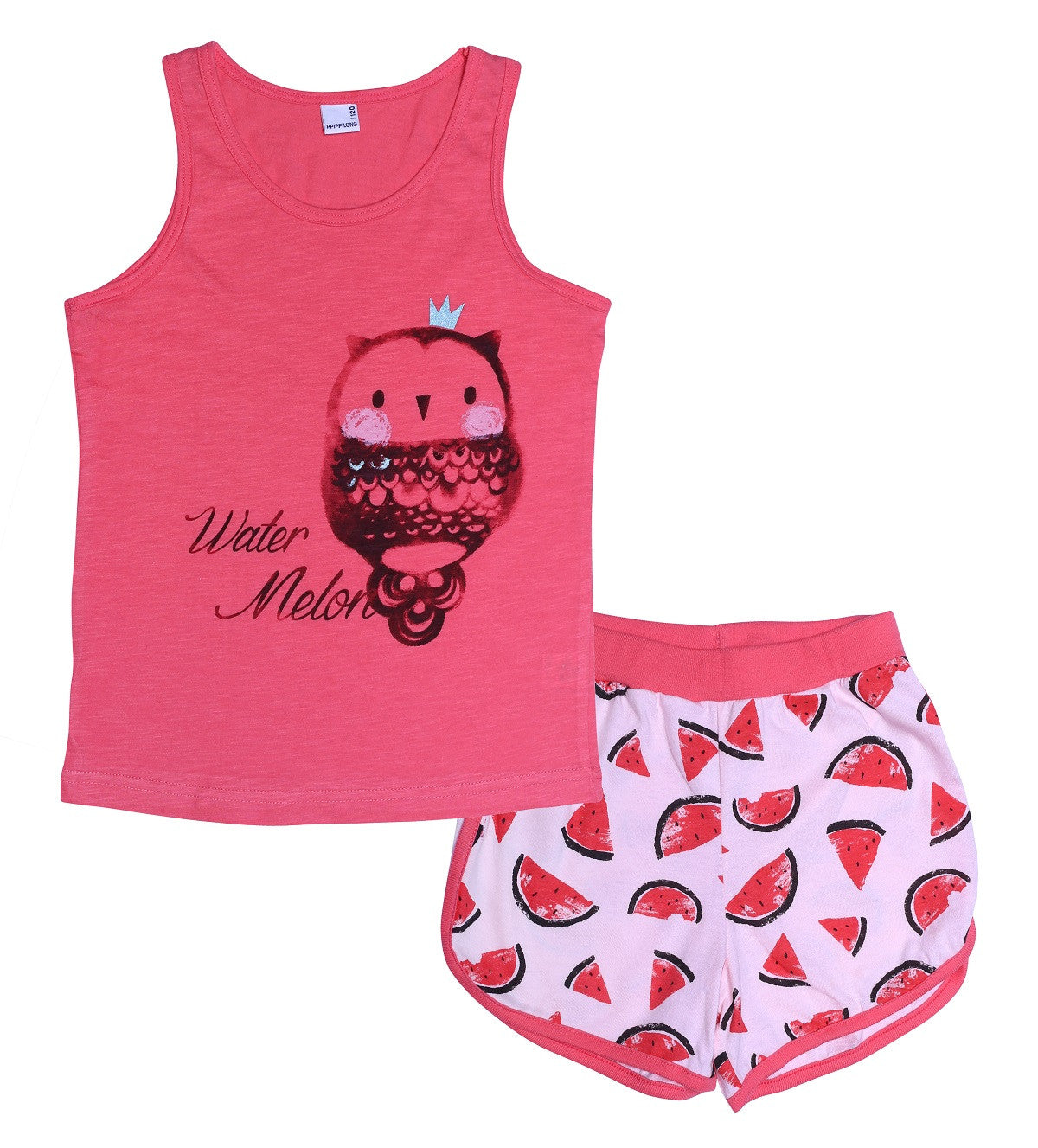 Watermelon Princess Owl