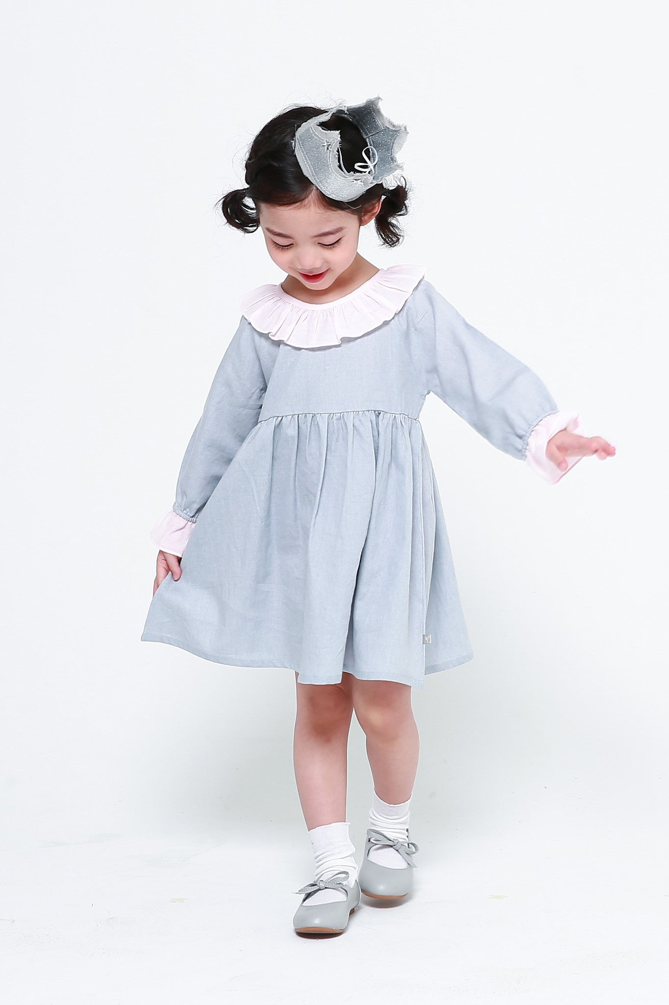 Dresses - Princess Alice Cotton Dress Blue