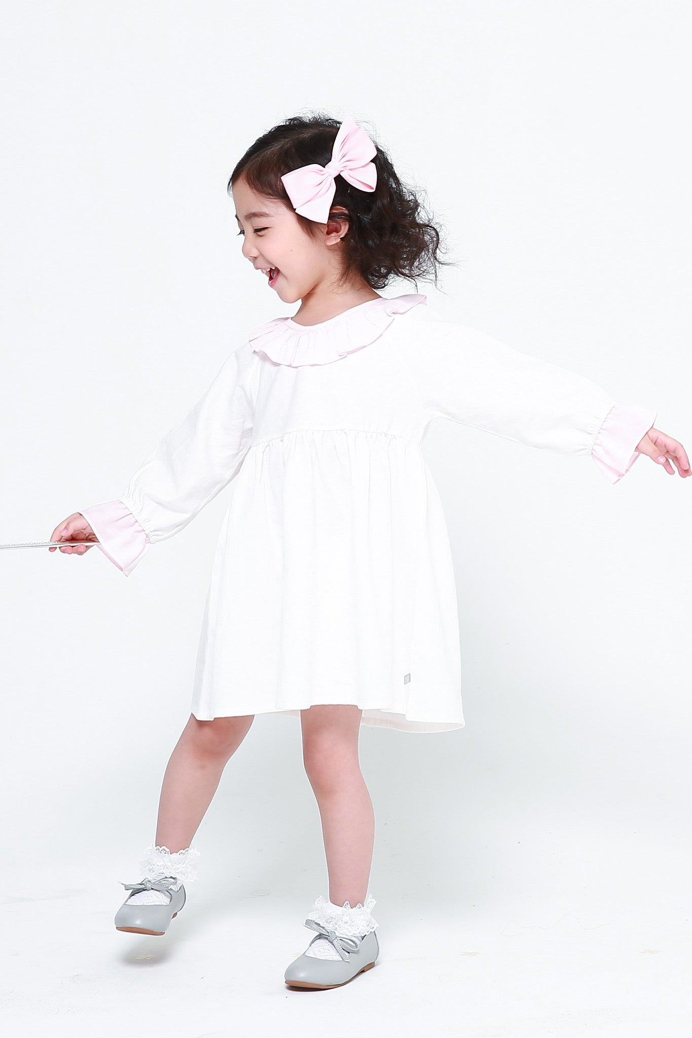Dresses - Princess Alice Cotton Dress White