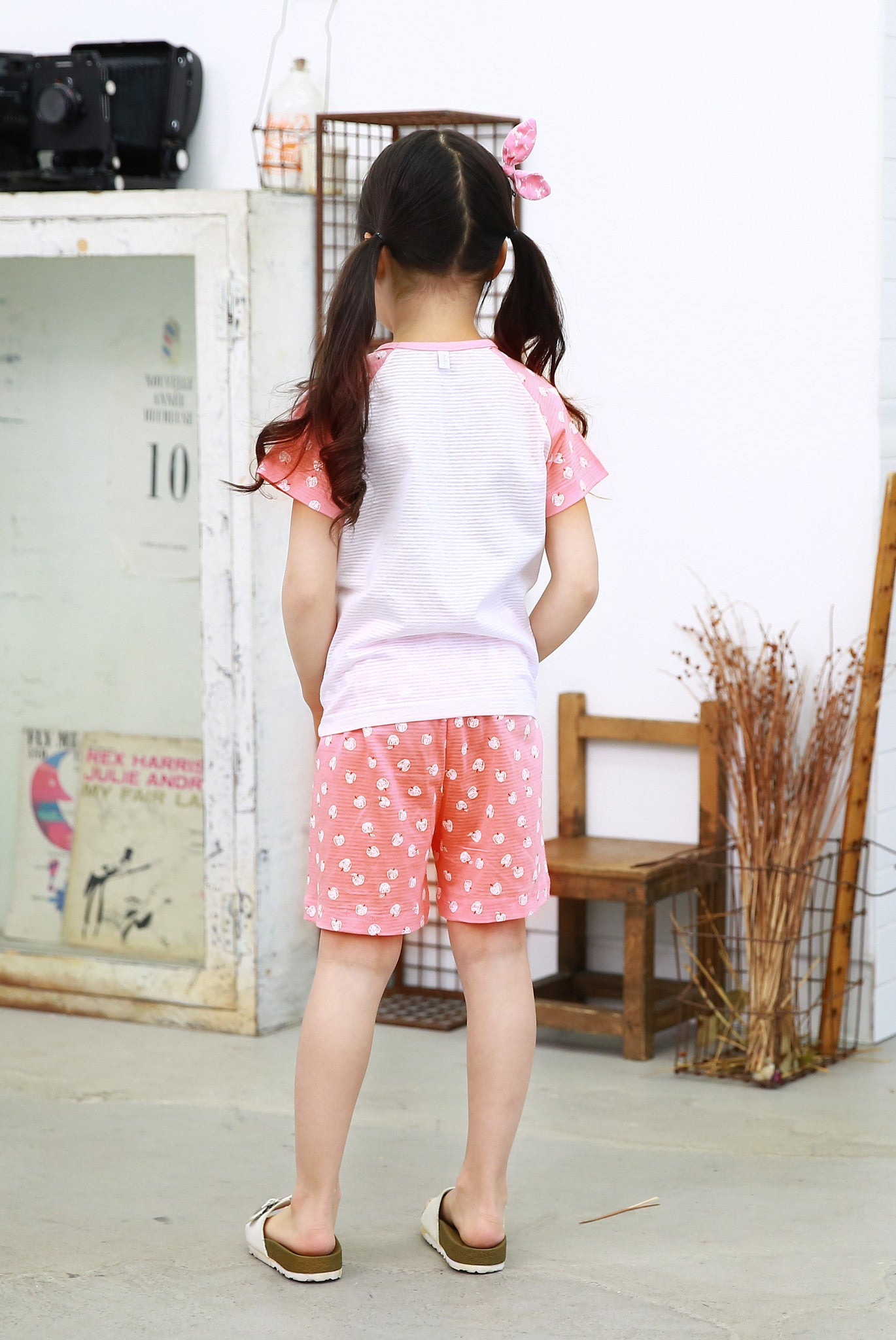 Easy Wear - Short Sleeve Sets - Pink Bunny
