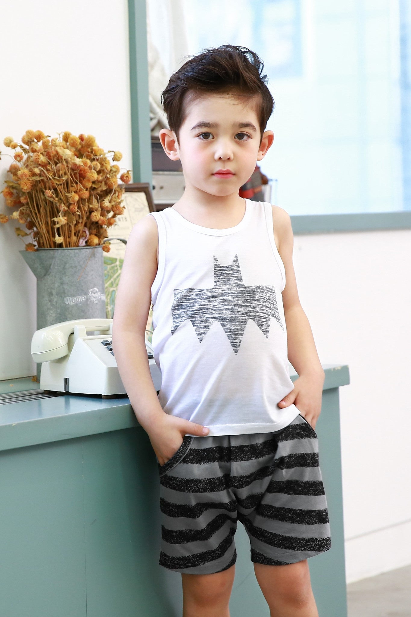 Easy Wear - Sleeveless Sets - Bat Boy