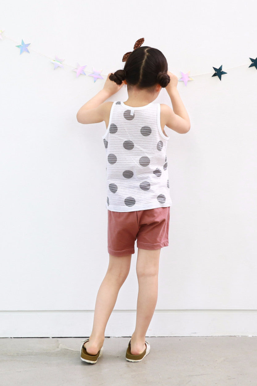 Easy Wear - Sleeveless Sets - Heart Owl