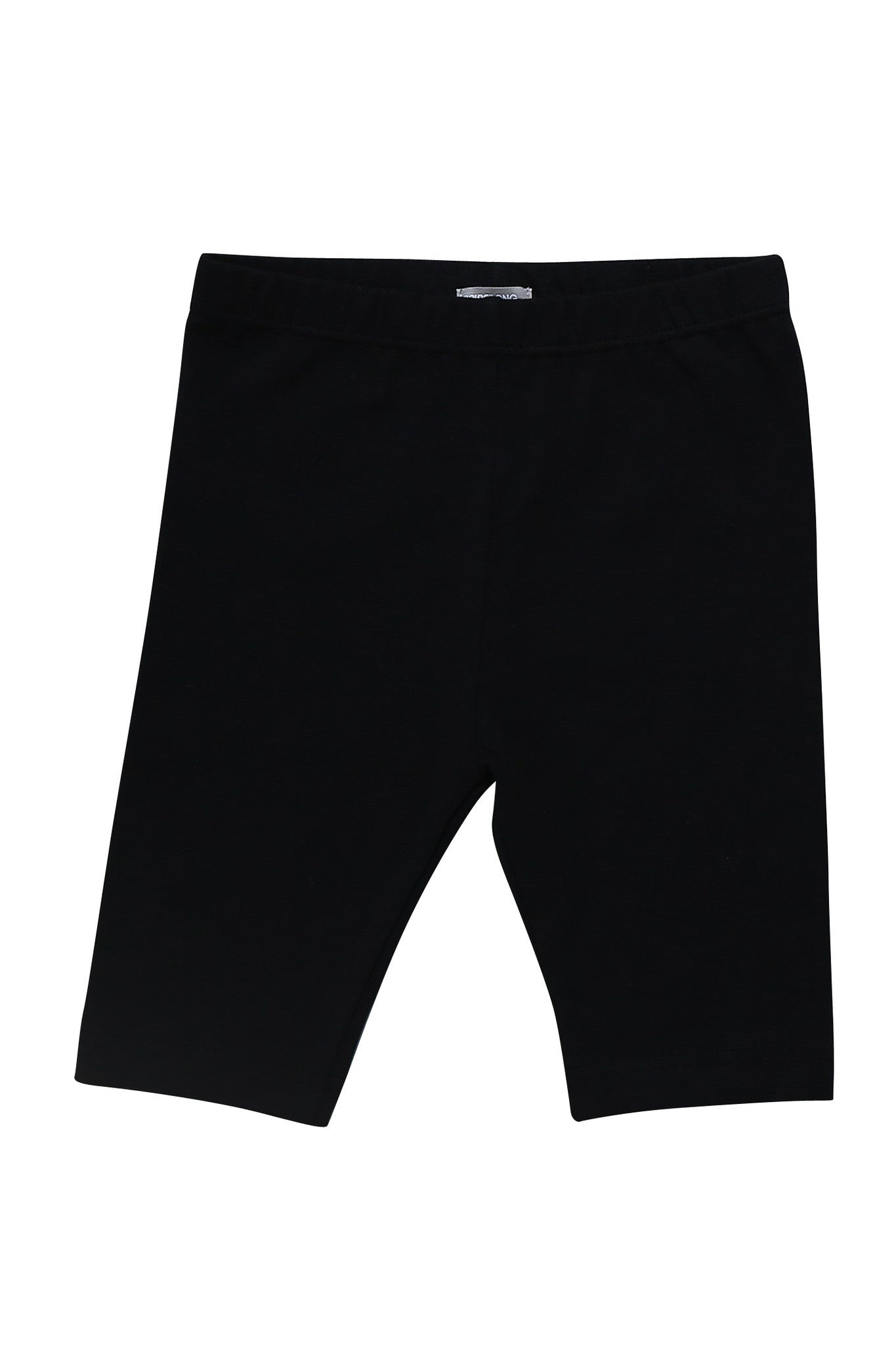 Half Leggings - Girls Essentials Black Half Leggings
