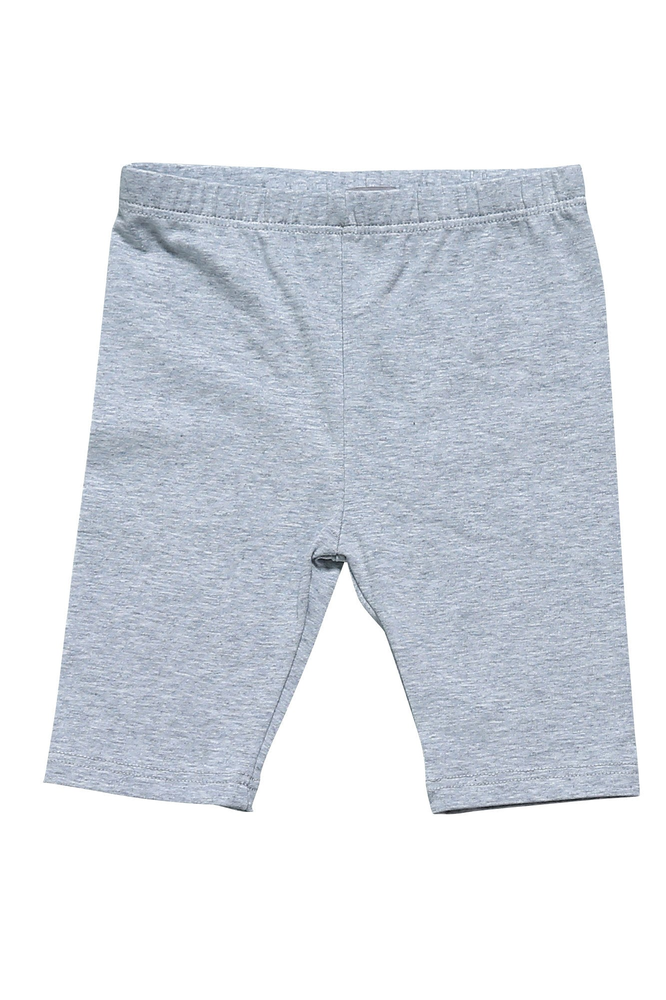 Half Leggings - Girls Essentials Grey Half Leggings