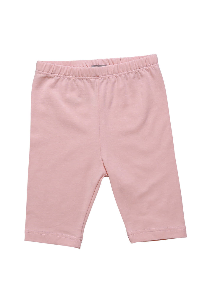 Half Leggings - Girls Essentials Pink Half Leggings