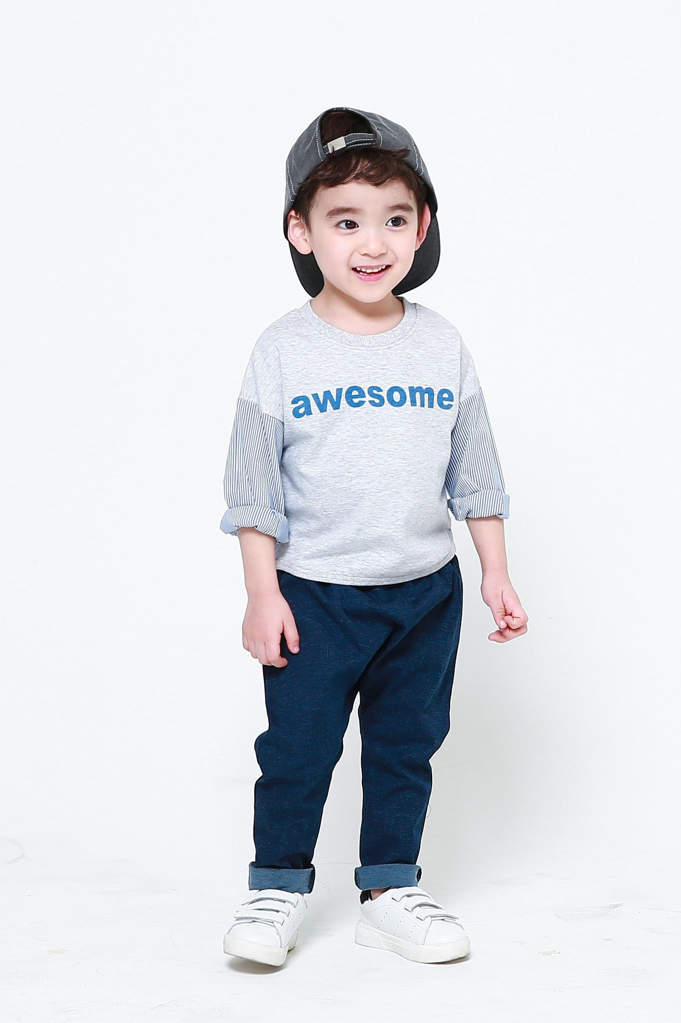 Long Sleeve Shirt - I'm Awesome T-Shirt