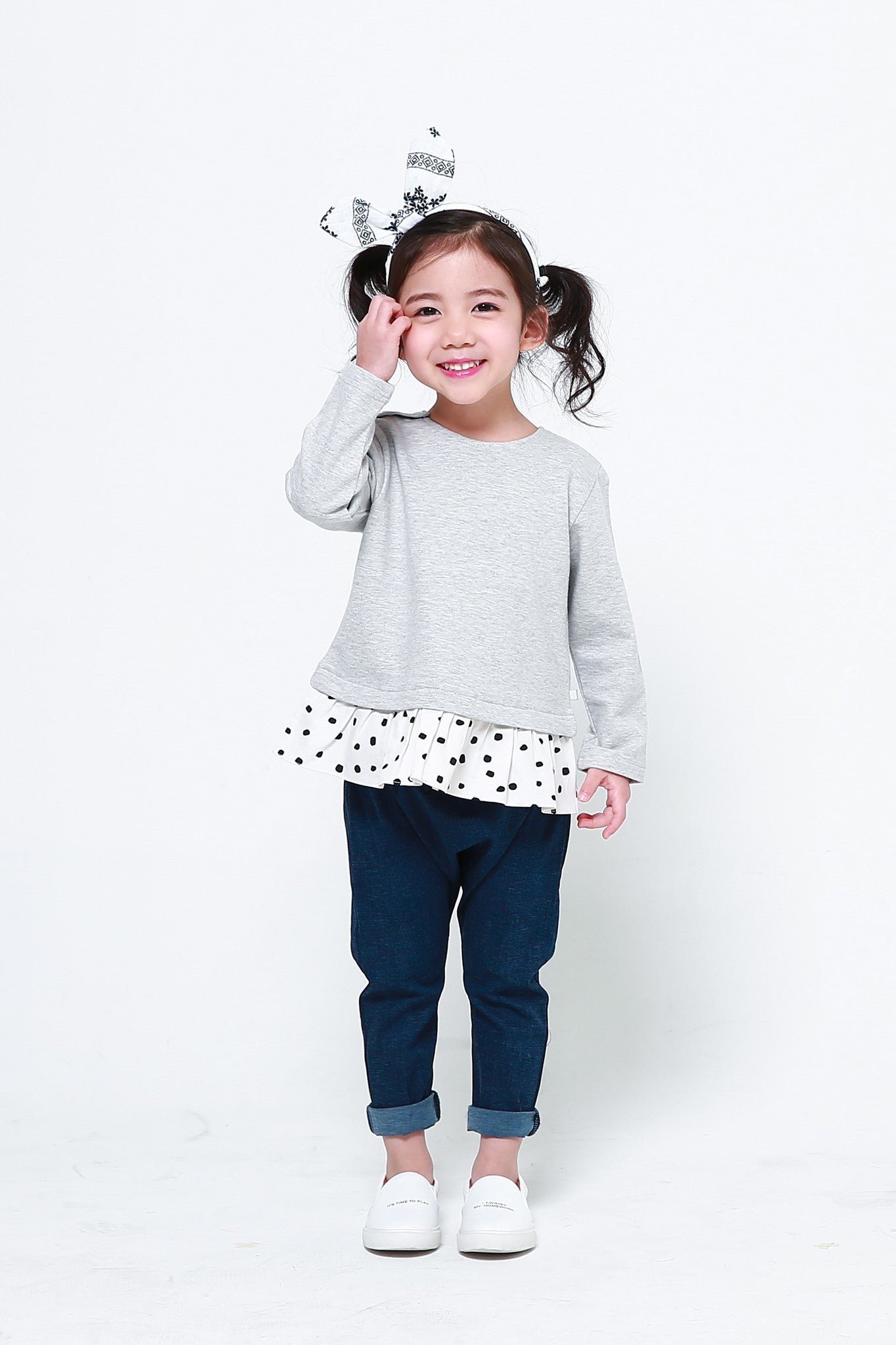 Long Sleeve Shirt - Polka Dot Cutie Long Sleeve Shirt