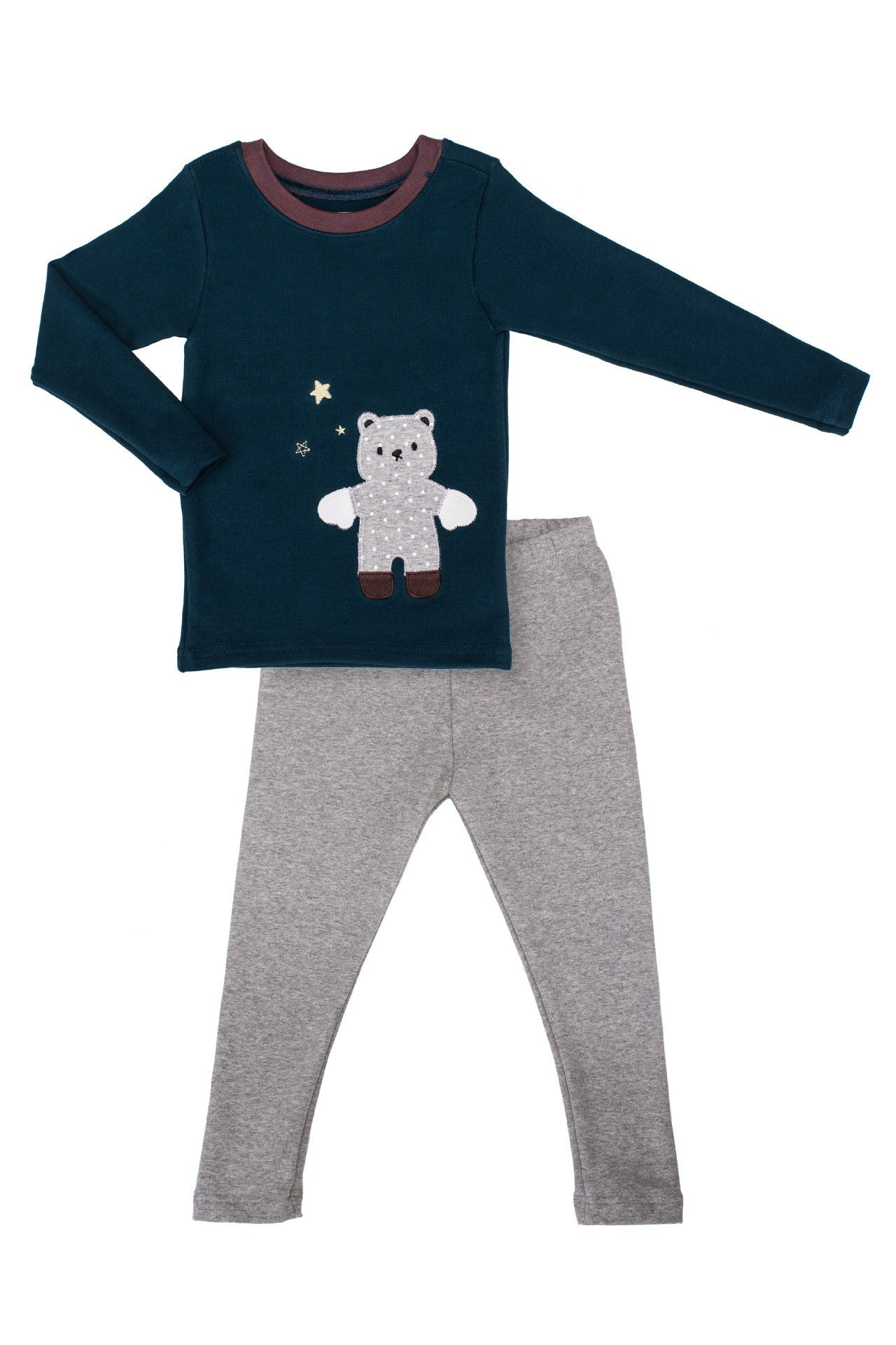 Slimfit Pajamas - Warmest, Softest Pajamas - Midnight Teddy