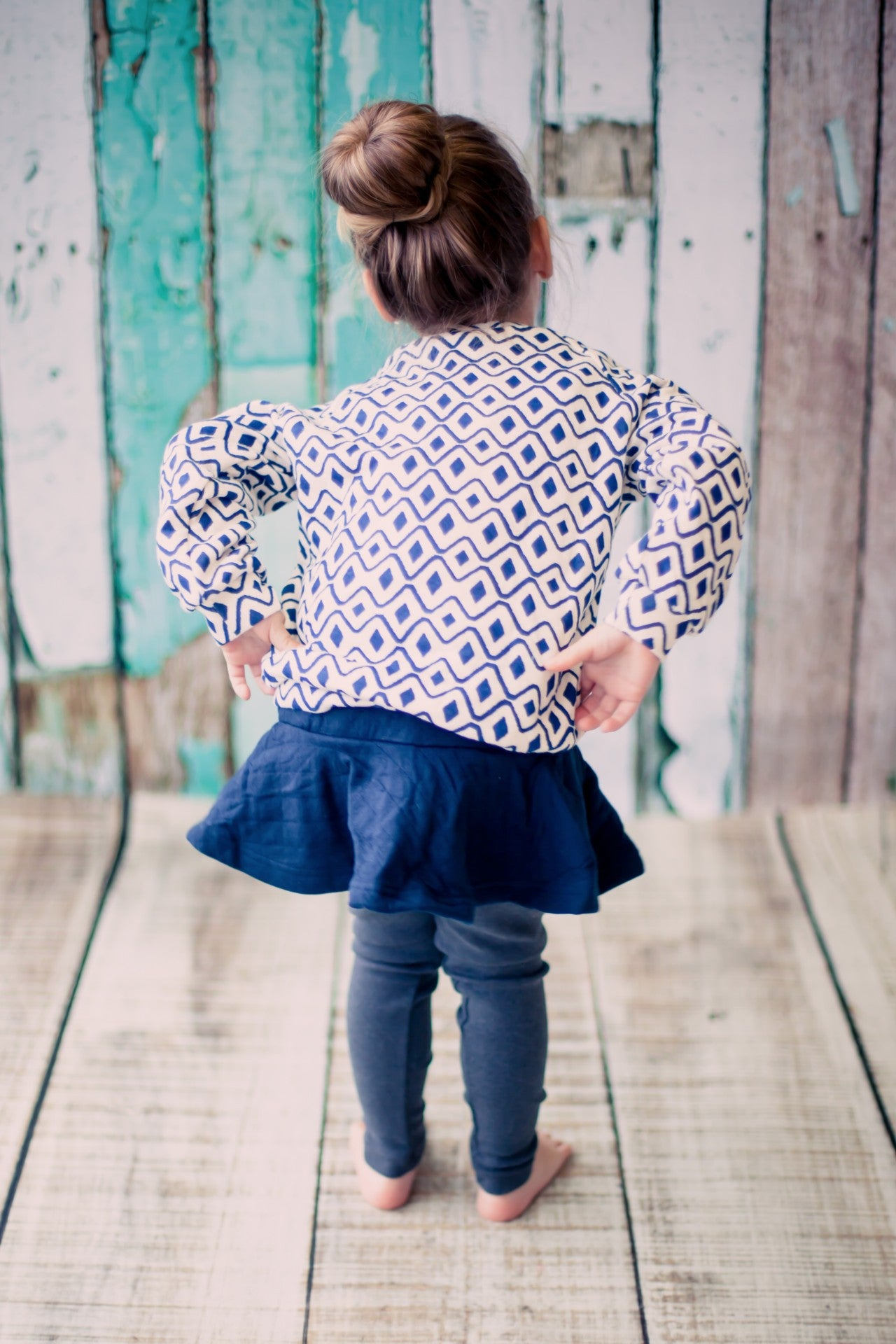 Urban Wear - Little Miss Blue Jay (Sizes 2-4)