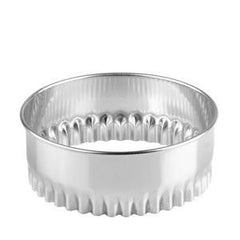 Cutter-Crinkled-Stainless Steel 90mm