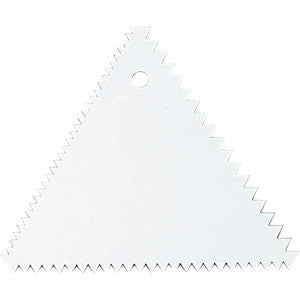 Decorating Comb Triangular