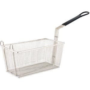 Rectangular-Deep-Fryer-Frying-Basket-Chrome-Plated