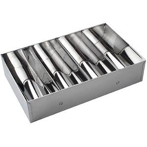 Cutlery Box-Stainless Steel 4-Comp