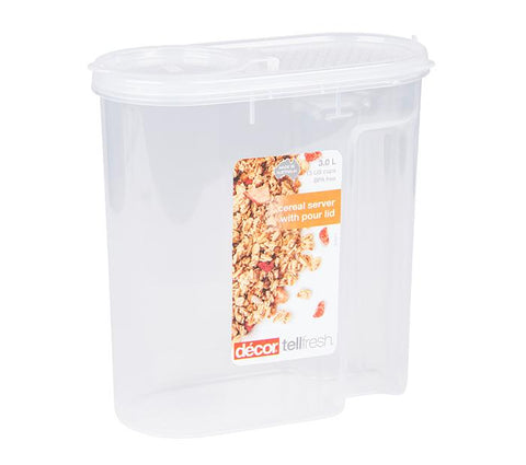 Decor TELLFRESH CEREAL SERVER 3L