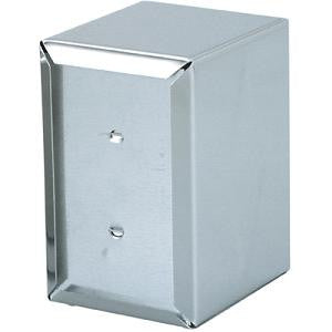 "Napkin Dispenser-Stainless Steel ""D Fold"" 130X95X115mm"