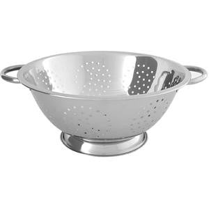 Colander-Stainless Steel 375X165mm 13 Lt 4mm Holes