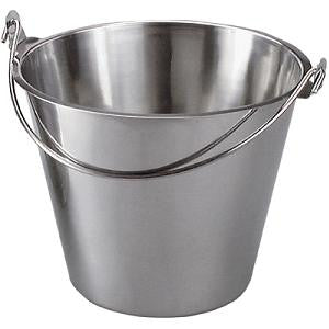 Bucket- Stainless Steel 13.0Lt
