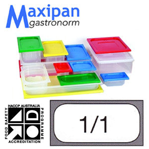 Lid-Polyprop Gastronorm 1/1 Blue