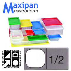 Lid-Polyprop Gastronorm 1/2 Blue