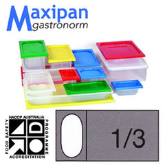 Lid-Polyprop Gastronorm 1/3 Blue