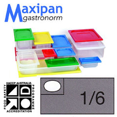 Lid-Polyprop Gastronorm 1/6 Blue